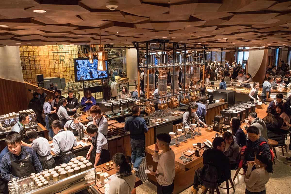 Starbuck Reserve Roastery Thượng Hải